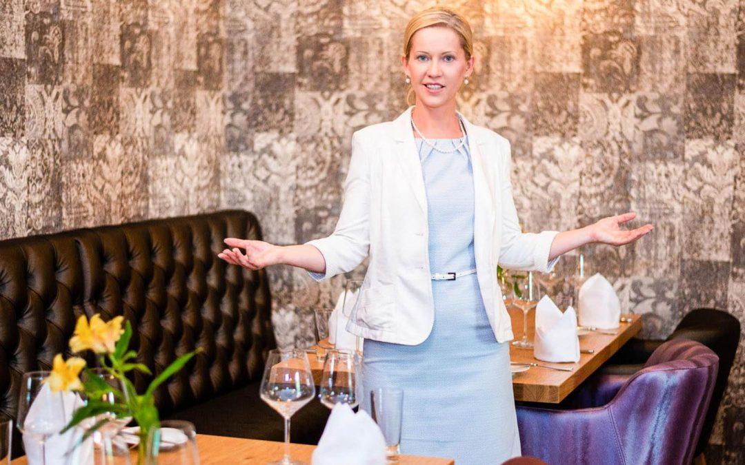 Wie Sie beim Business-Lunch von Ihrer Kompetenz überzeugen