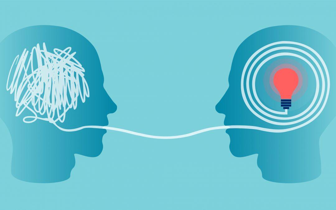 Welche Sprache sprechen Sie, wenn Sie mit anderen Menschen in Kontakt treten?