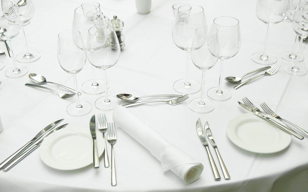 Wie Sie sich stilvoll beim Business-Lunch oder Business-Dinner präsentieren
